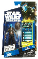Star Wars Clone Wars 2010 - Black and Blue Card