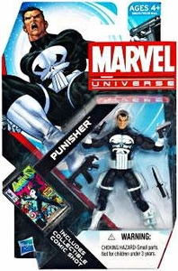 Marvel Universe - Punisher -White Gloves and 4 Weapons - 13