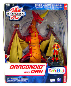 Toydorks Spinmaster Toys Bakugan Monster Deluxe Dragonoid And Dan