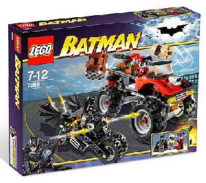 LEGO - Batman - Batcycle vs Harley Quinn Hammer Truck[7886]