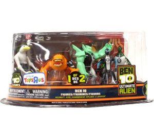 Toydorks Bandai Ben 10 Ultimate Alien 5 Pack