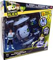 Ben 10 Ultimate Alien Vehicle - Plumber Space Ship with Grandpa Max