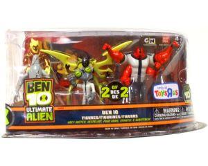 Ben 10 Ultimate Alien 5 Pack - Grey Matter, Heatblast, Four Arms, Stinkfly, Ghostfreak - Set 2 of 2