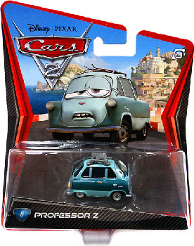 Cars 2 Movie - Professor Z