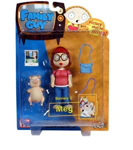 Family Guy - Meg Griffin - DAMAGED PACKAGE