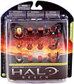 Halo Reach Series 4 - Exclusive RUST Armor Pack - Air Assault, ODST, EVA