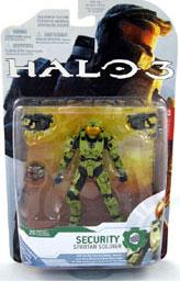 ToyDorks - Mcfarlane Toys - Halo 3 Series 4 - Spartan