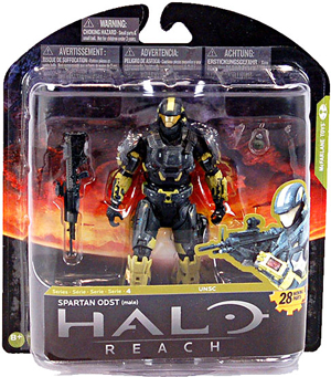 Halo Reach Series 4 - Exclusive Steel Spartan ODST - Male