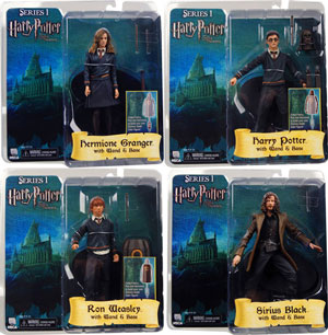 "Harry Potter and Order the Phoenix Series 1 action figure Neca 3.5/"" 9cm NIB"