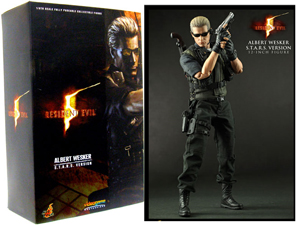 Hot Toys Resident Evil 5 12-Inch Albert Wesker S.T.A.R.S. Version 1:6th Scale