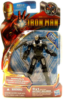 Iron Man The Armored Avenger - Movie Series Power Charge Armor War Machine