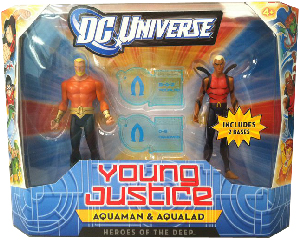 Young Justice - Heroes of The Deep 2-Pack Aquaman and Aqualad