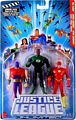Justice League Unlimited 3-Pack: The Flash, Green Lantern, Atom Smasher