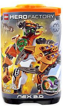 Toydorks Lego Lego Hero Factory Nex 20 Orange 2068