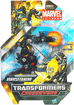 Marvel Transformers Crossovers - Ghost Rider