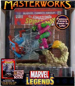 Toydorks Toybiz Toys Spiderman Vs Green Goblin