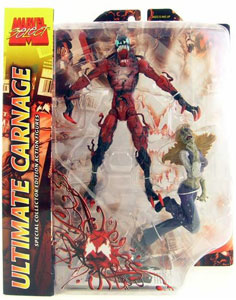 ToyDorks - Toybiz Toys - Marvel Select Ultimate CarnageUltimate Carnage Marvel Select