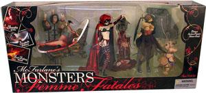 Mcfarlane Monsters Femme Fatales Box Set