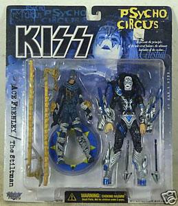 McFarlane Toys Kiss Psycho Circus Ace Frehley The Stiltman  New!