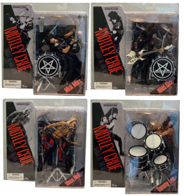 Motley Crue: Set of 4