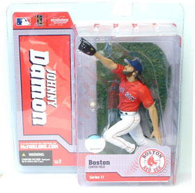 Johnny Damon - Red Jersey - Series 11 - Red Sox