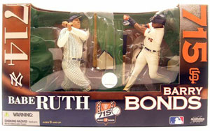 MLB 2-Pack: Barry Bonds[Giants] and Babe Ruth[Yankees]