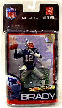 Toydorks Mcfarlane Sports Nfl Elite Series 1 Tom Brady Patriots