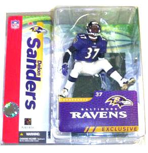hot sale online fa73f ebe85 ToyDorks - Mcfarlane Toys - Deion Sanders Purple Jersey ...