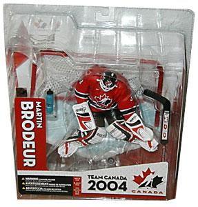 db184d9b5 ToyDorks - Mcfarlane Toys - Martin Brodeur Team Canada Red Jersey ...