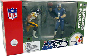 NFL SUPERBOWL 2-Pack - Matt Hasselbeck and Troy Polamalu