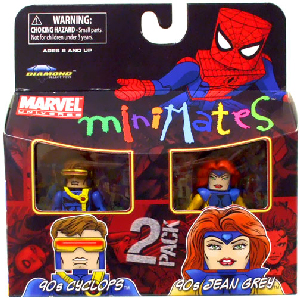 Marvel Minimates - 90s Cyclops and 90s Jean Grey