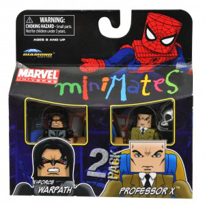 Marvel Minimates - X-Force Warpath and Professor Xavier