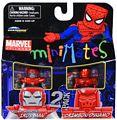 Marvel Minimates - Silver Centurion Iron Man and Crimson Dynamo