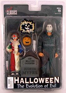 Toydorks Neca Toys Halloween Evolution Of Evil Figure 2 Pk