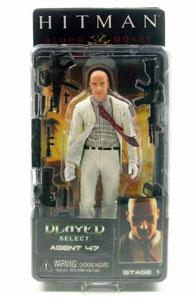 Toydorks Neca Toys Neca Hitman Agent 47 White Suit Variant