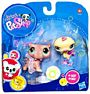 Littlest Pet Shop - 2-Pack - Hippo and Ostrich 1416