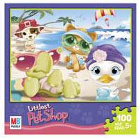 LITTLEST PET SHOP Puzzles 100 pieces - Beach