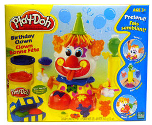 Play-Doh Birthday Clown