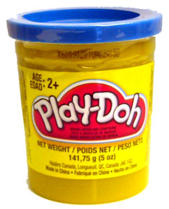 Play-Doh Blue Can