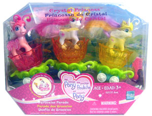 MY LITTLE PONY CRYSTAL PRINCESS BREEZIES PARADE - FLUFFALUFF, SILLY LILLY and TUMBLETOP