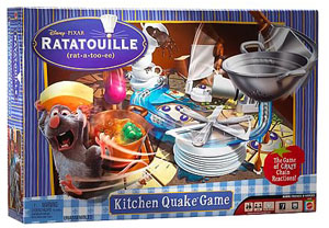 Ratatouille Remy Kitchen Quake Game