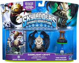 Skylanders - Darklight Crypt - Ghost Roaster, Crypt, Time Twister, Healing Elixir