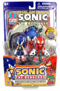 Sonic The Hedgehog - 2-Pack Sonic and Knuckles