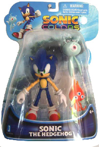 ToyDorks - Jazwares - Sonic Colors - 5-Inch Sonic with Wisp