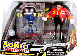 Sonic The Hedgehog - 2-Pack: Metal Sonic and Dr Eggman