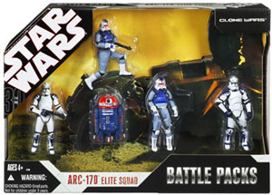 30th Anniversary Battle Packs ARC-170 Elite Squad