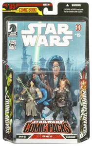Quinlan Vos Vilmarh Grahrk STAR WARS 30th Anniversary Comic Packs MOC #05 #19