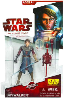 Clone Wars 2009 - Red Card - Space Suit Anakin Skywalker