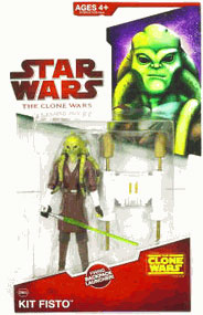 Clone Wars 2009 - Red Back Kit Fisto