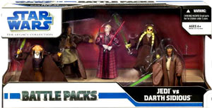 Battle Packs - Jedi VS Darth Sidious